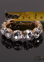 Large Crystal Hoops Jw557