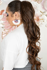 Brown Ombre Mix Ponytail PT148