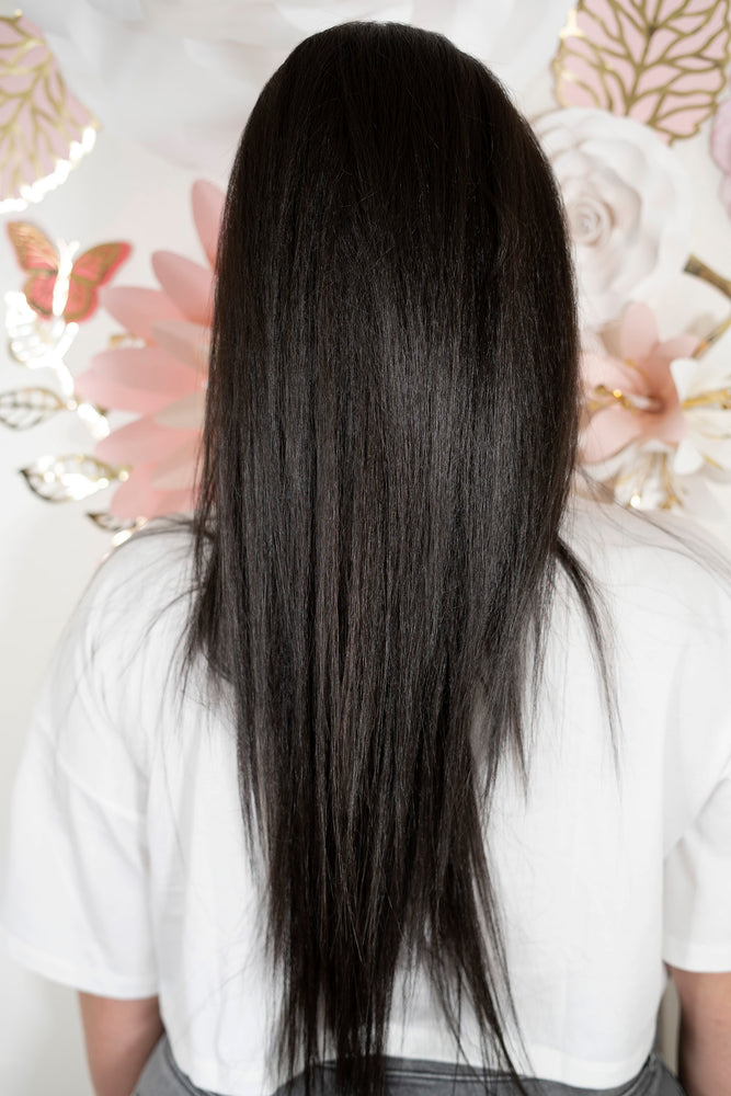 Dark Brown/Soft Black Ponytail PT144