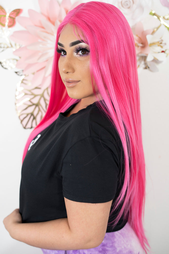 Pinky Lace Front Wig