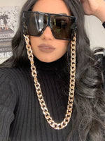 Gold sunglass chain (Sunglasses NOT included) MS10