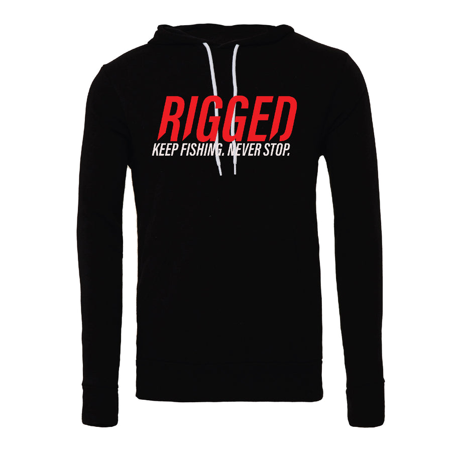 """Never Stop"" Rigged Hoodie"