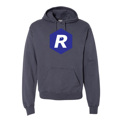 Rigged Hooded Pullover - Anchor Slate