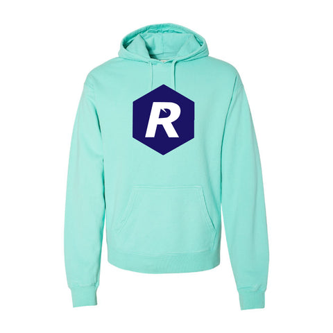 Rigged Hooded Pullover - Mint