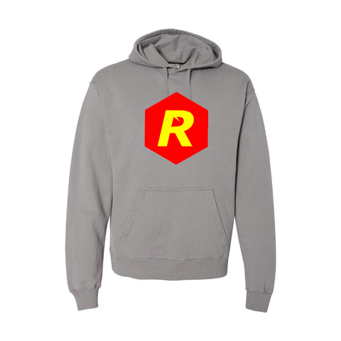 Rigged Hooded Pullover - Concrete