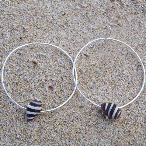 Hoops with Striped Shell