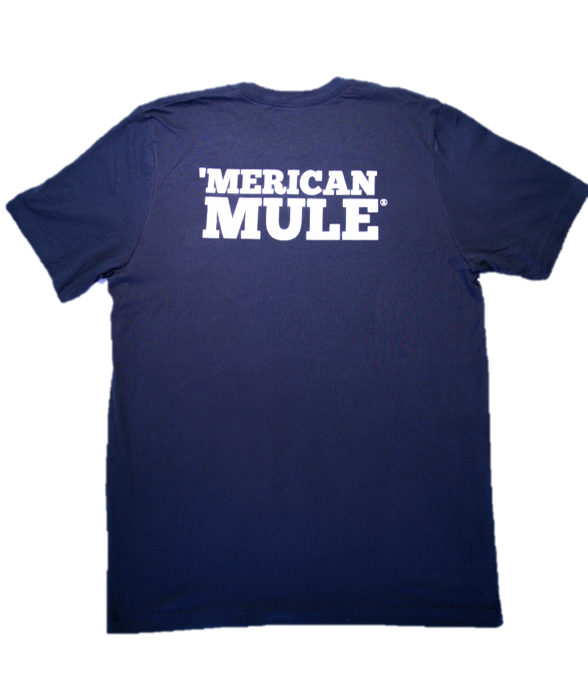 Men's Mule Head Tee - Navy