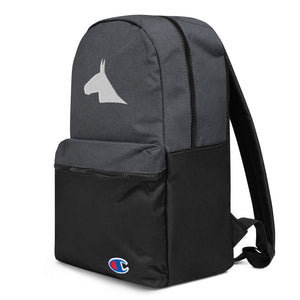 Mule Head Embroidered Champion Backpack