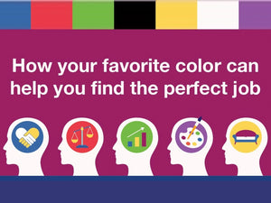 how your favorite colour can help you find the perfect job
