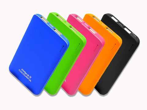 Fast Charging Power Bank 5000mAh Power Collection Make it COLOURFUL