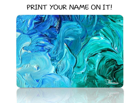 Acrylic Spread in Blue and Green - Make it COLOURFUL®