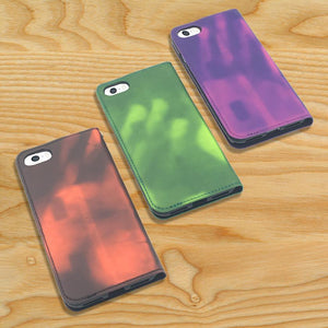 Heat-Sensitive Flip Cover Cases compatible with iPhones 6-6s-7-8 - Make it COLOURFUL®