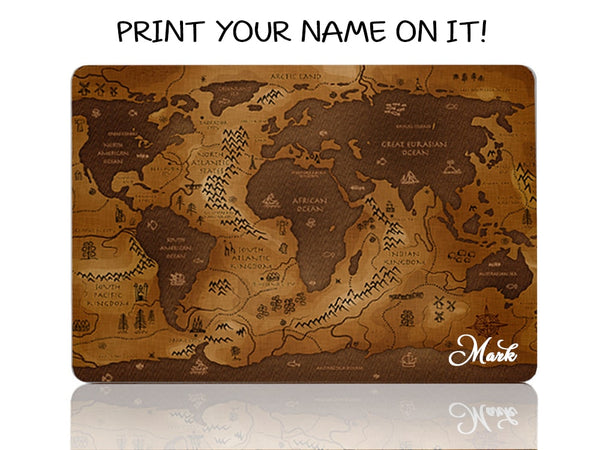 Ancient World Map - Make it COLOURFUL®