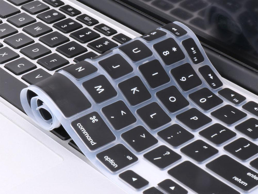 Silicone Keyboard Protector Black - Mac me colourful