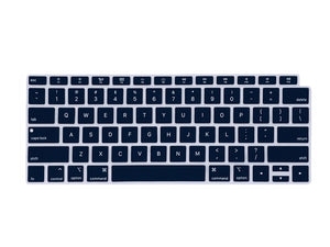 Silicone Keyboard Protectors Compatible with New MacBook Air 13 Touch ID - Make it COLOURFUL®