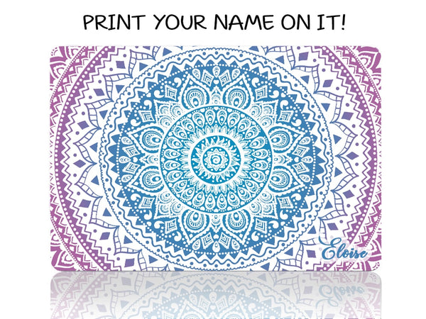 Blue and Purple Mandala - Make it COLOURFUL