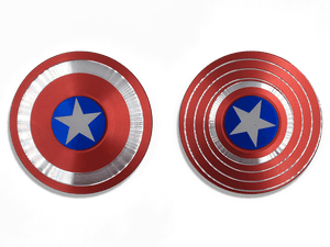 Captain America Marvel Super Heroe Shield Fidget Spinner - Make it COLOURFUL®