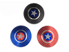 Captain America Marvel Super Heroe Shield Fidget Spinner