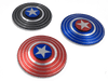 Captain America Marvel Super Heroe Shield Fidget Spinner - Mac me colourful