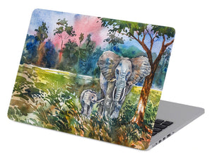 Elephants in Watercolors - Make it COLOURFUL®