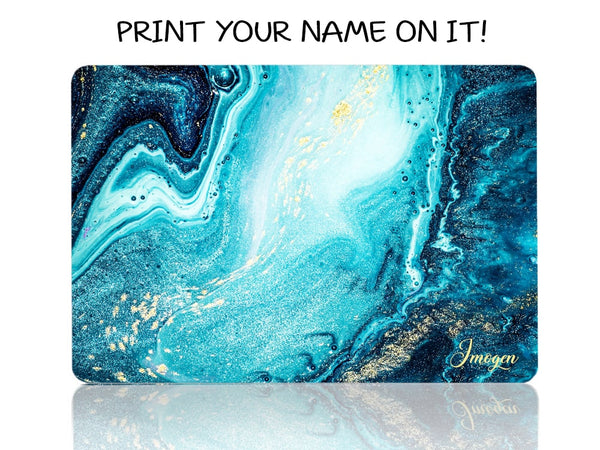 Golden Dust Blue Stream - Make it COLOURFUL®