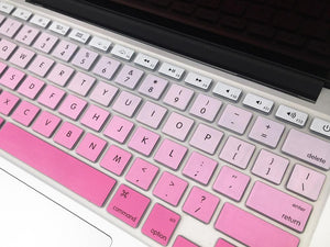 Silicone Keyboard Protectors Compatible with New MacBook Pro 13 Regular Touches or Retina 12 - Make it COLOURFUL®