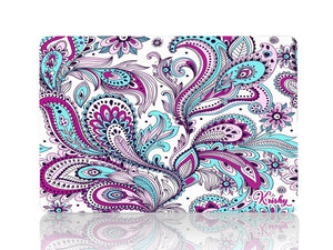 Green Purple Paisley - Make it COLOURFUL®