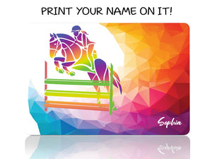 Horse Jumping My Passion - Woman - Make it COLOURFUL®