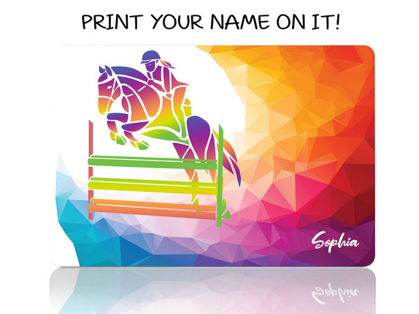 Horse Jumping My Passion - Make it COLOURFUL