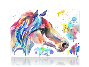Horse in Watercolors - Make it COLOURFUL®