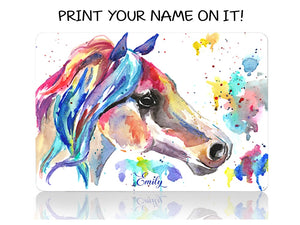 Horse in Watercolors - Make it COLOURFUL