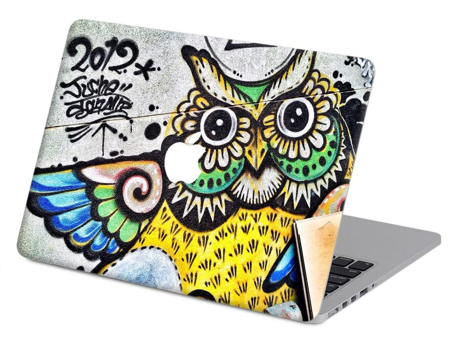 Graffiti Owl - Mac me colourful