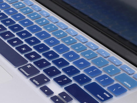 Silicone Keyboard Protectors For MacBook Air 13/Pro Retina 13 Silicone Keyboard Protector Make it COLOURFUL