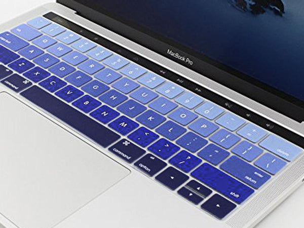 Silicone Keyboard Protectors Compatible with New MacBook Pro 13 and 15 With Touchbar - Make it COLOURFUL®