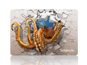 Octopus in 3D - Make it COLOURFUL