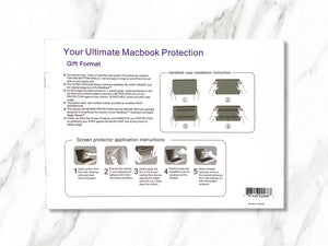 Signature Collection Ultimate MacBook Protection by Shelee Art - Make it COLOURFUL