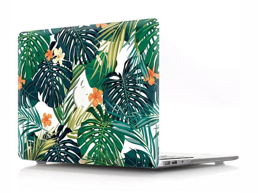 Palm Flower Leaves Standard Collection Make it COLOURFUL Air 13 (A1466/A1369) No Matte Black