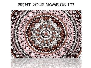 Pink and Brown Mandala - Make it COLOURFUL