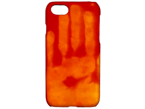 Heat-Sensitive Case, for iPhones 6-6s-7-8 Heat-Sensitive Make it COLOURFUL Red turning yellow