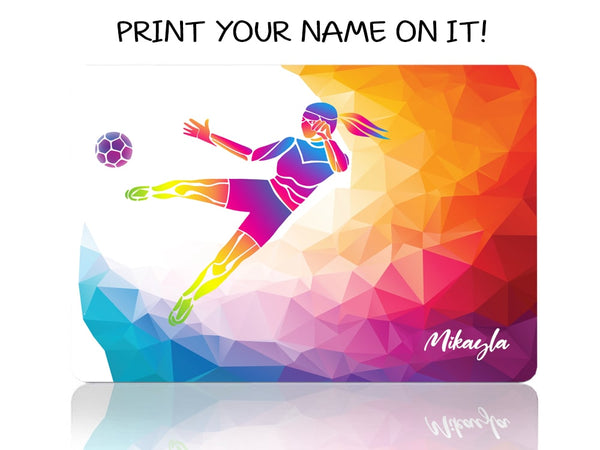 Soccer Girl - Make it COLOURFUL