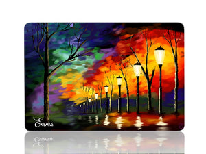 Street Lights at Night - Make it COLOURFUL®
