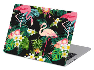 Tropical Pink Flamingos in Black - Make it COLOURFUL®