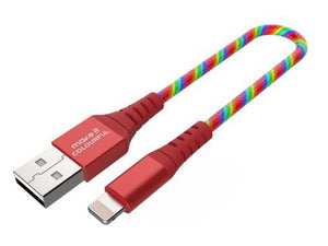 Colorful USB cable, Short USB cable (available in 3 types of connector) - Make it COLOURFUL®