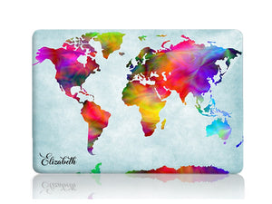 Vivid Chromatic World Map - Make it COLOURFUL