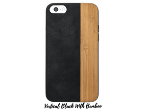 Faux-Leather and Wood Cases for iPhones 6-6s-7-8 - Make it COLOURFUL®