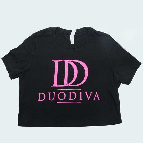 DuoDiva T-shirts (Black)
