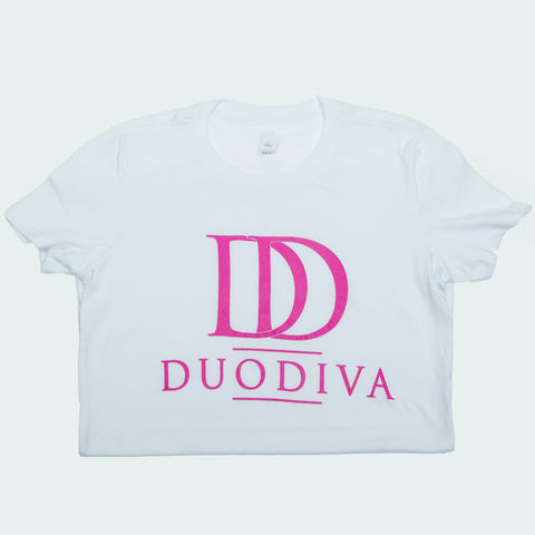 Copy of DuoDiva T-shirts (White)