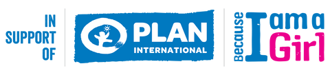Plan International Because I am a Girl Campaign Logi