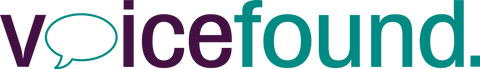VoiceFound charity logo