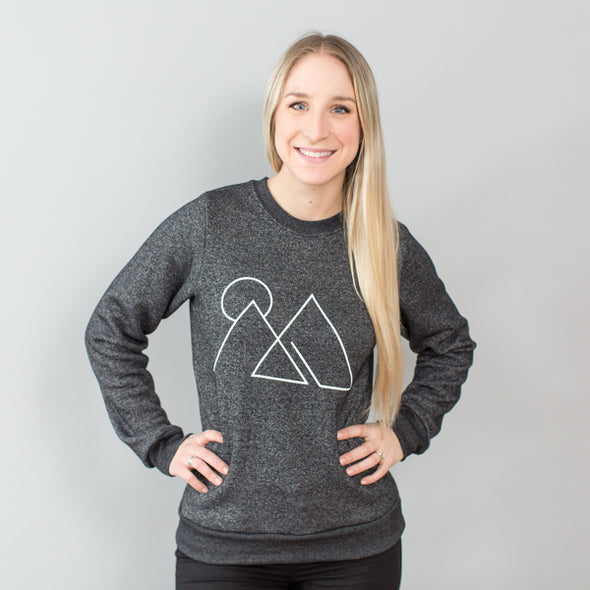 You Can Move Mountains / Crew Neck Sweater